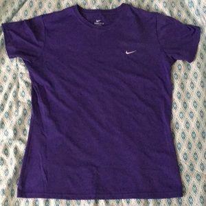 Purple Nike Dri-Fit Top